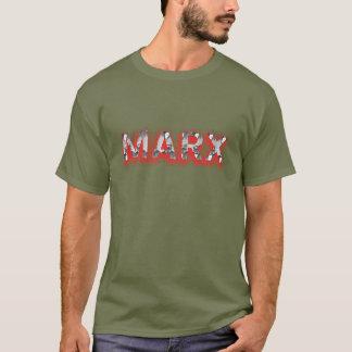 Marx-Foto-Schriftart T-Shirt