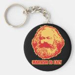 Marxismus ist faul schlüsselanhänger