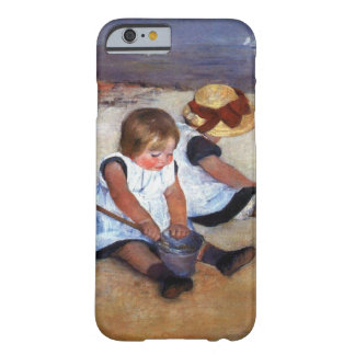 Mary Cassatt-Kinder auf dem Strand Barely There iPhone 6 Hülle