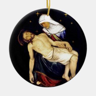 Mary, die Jesus hält Keramik Ornament