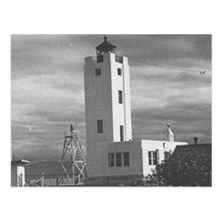 Mary-Insel-Leuchtturm Postkarte