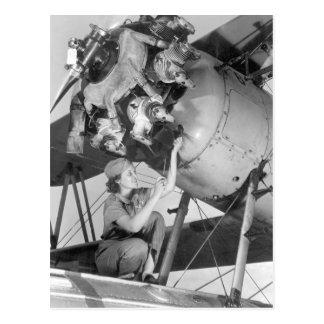 Mary Josephine Farley, die am Bild 20_War Postkarte