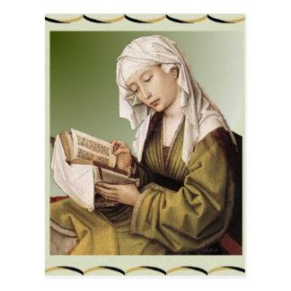 Mary Magdalen Postkarte