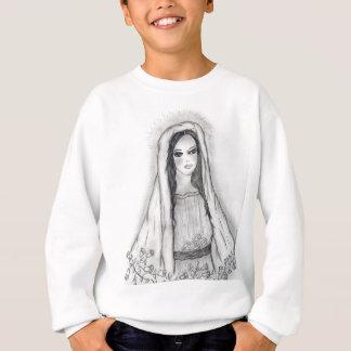 Mary mit Rosen Sweatshirt