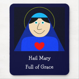Mary-Mutter des Gottes Mousepad