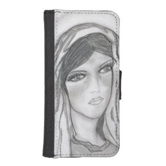 Mary-Schreien Geldbeutel Hülle Für Das iPhone SE/5/5s