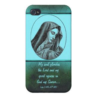 Mary-Schriftsfall iPhone 4 Schutzhülle