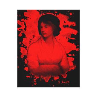 Mary Shelley (Wollstonecraft) Tribute Leinwanddruck