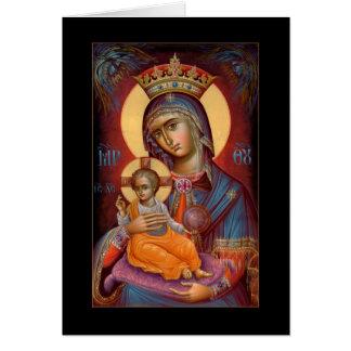 Mary - THEOTOKOS Grußkarte