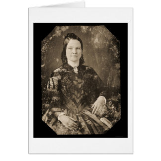 Mary Todd Lincoln Daguerreotype 1846 Karte