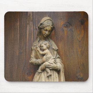 Mary und Baby Jesus Mousepad