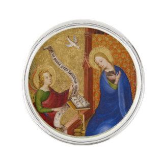 Mary und Engel der Ankündigung Anstecknadel