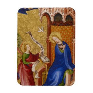 Mary und Engel der Ankündigung Magnet