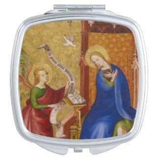 Mary und Engel der Ankündigung Taschenspiegel