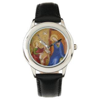 Mary und Engel der Ankündigung Uhr
