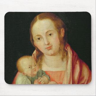 Mary und ihr Kind Mauspads