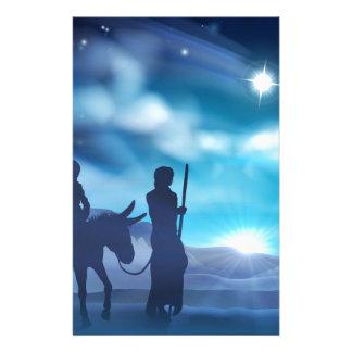 Mary- und Joseph-Geburt Briefpapier
