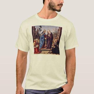 Mary und St. Elizabeth Sankt Nikolaus und St. T-Shirt