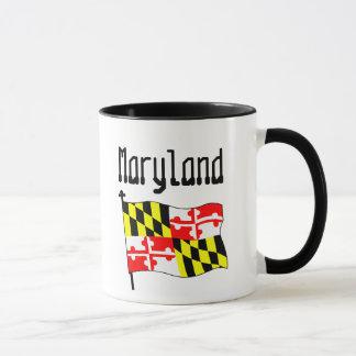 Maryland-Flagge Tasse