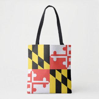 MARYLAND-Flaggen-Entwurf - Tasche