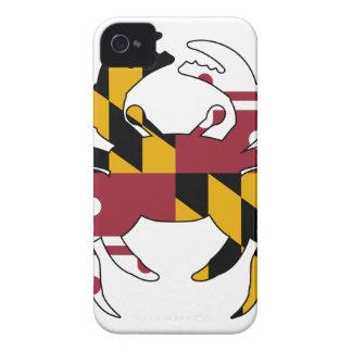 Maryland-Flaggen-Krabbe Case-Mate iPhone 4 Hülle