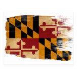 Maryland-Flaggen-Postkarten