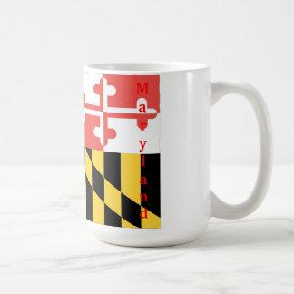 Maryland-Flaggenschale Kaffeetasse