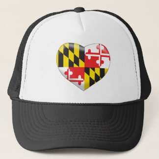 Maryland-Herz Truckerkappe