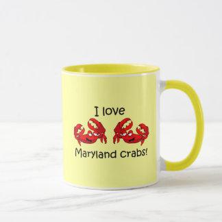 Maryland-Krabben der Liebe I! Tasse