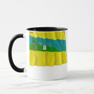 Maryland-Landkreis-wellenartig bewegende Flagge Tasse