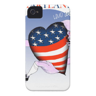 Maryland laute und stolz, tony fernandes iPhone 4 cover