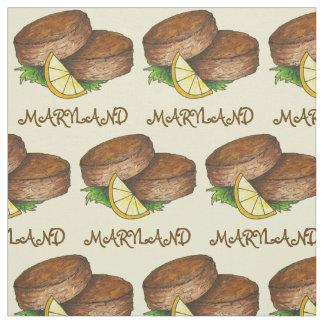 Maryland MD-Krabbenküchlein backt würziges Stoff