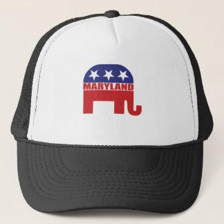 Maryland-Republikaner-Elefant Truckerkappe