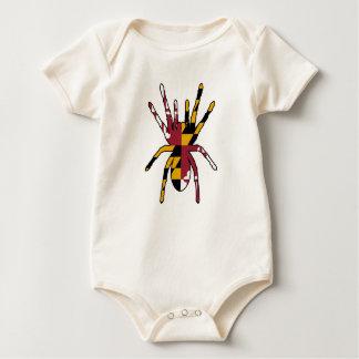 Maryland-Spinne Baby Strampler