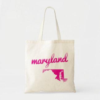 Maryland-Staat im Rosa Tragetasche