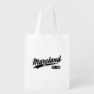 Maryland-Staat Wiederverwendbare Einkaufstasche