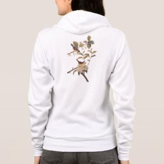 MarylandYellowthroat Audubon Vögel mit Blumen Hoodie