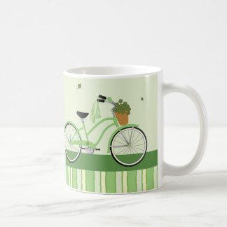 März-Fahrrad Kaffeetasse