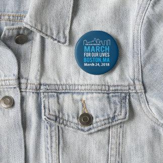 März für unsere Leben Boston MA am 24. März Runder Button 5,7 Cm
