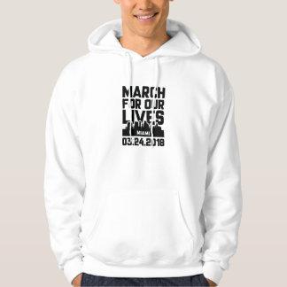März für unsere Leben Miami Hoodie