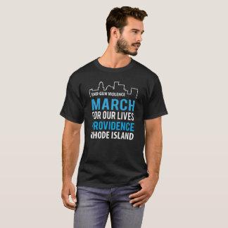 März für unsere Leben Providence Rhode Island T-Shirt