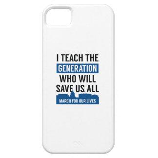 März für unseren Leben-Lehrer Barely There iPhone 5 Hülle