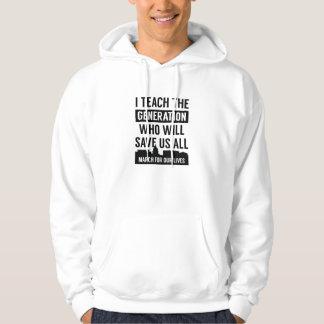 März für unseren Leben-Lehrer Hoodie