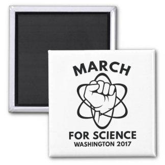 März für Wissenschaft Washington Quadratischer Magnet