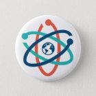 März für Wissenschafts-Button Runder Button 5,1 Cm