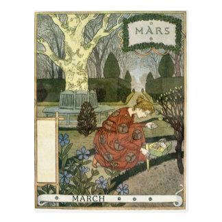 März Postkarte