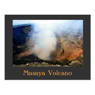 Masaya Vulkan, Nicaragua, C.A. Postkarte