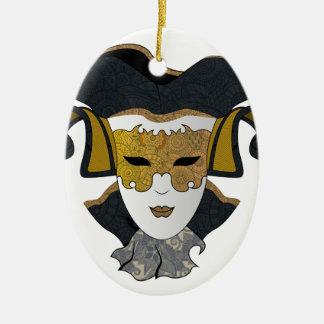 Maschera-Veneziana Keramik Ornament