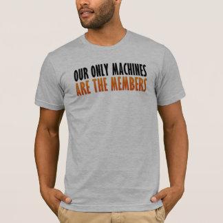 Maschinen des Trainer-Shirt-| T-Shirt