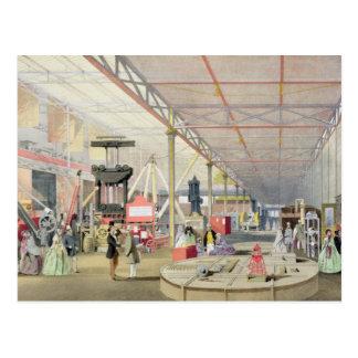 """Maschinerie, von """"Dickinsons umfassendem Bild Postkarte"""